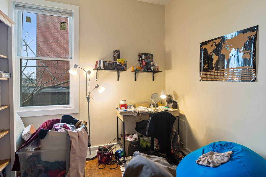 Real Estate Photography - 3633 N Elston Ave, Chicago, IL, 60618 - Bonus Bedroom / Office - Apt 2F