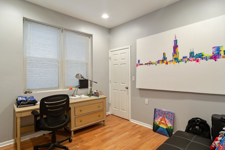 Real Estate Photography - 3633 N Elston Ave, Chicago, IL, 60618 - Bonus Bedroom / Office Apt 1F