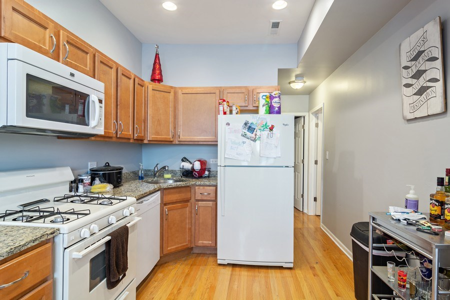 Real Estate Photography - 3633 N Elston Ave, Chicago, IL, 60618 - Kitchen - 1F