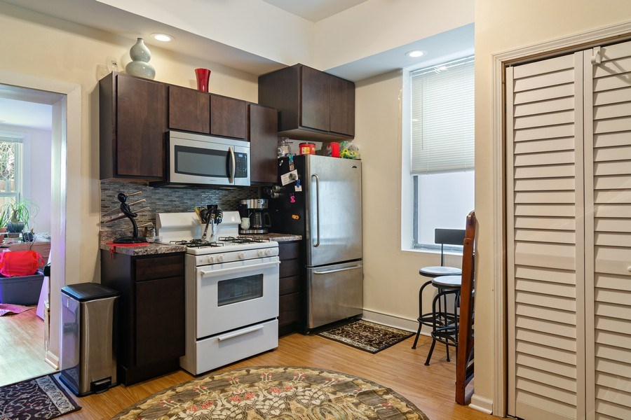 Real Estate Photography - 3633 N Elston Ave, Chicago, IL, 60618 - Kitchen - 1R