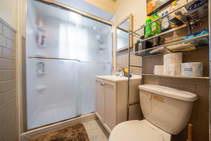 Real Estate Photography - 449 S Mason, Bensenville, IL, 60106 - Bathroom