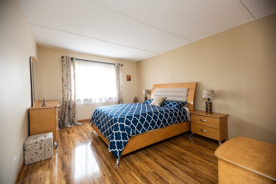 Real Estate Photography - 1480 Jefferson St, 504, Des Plaines, IL, 60016 - Master Bedroom