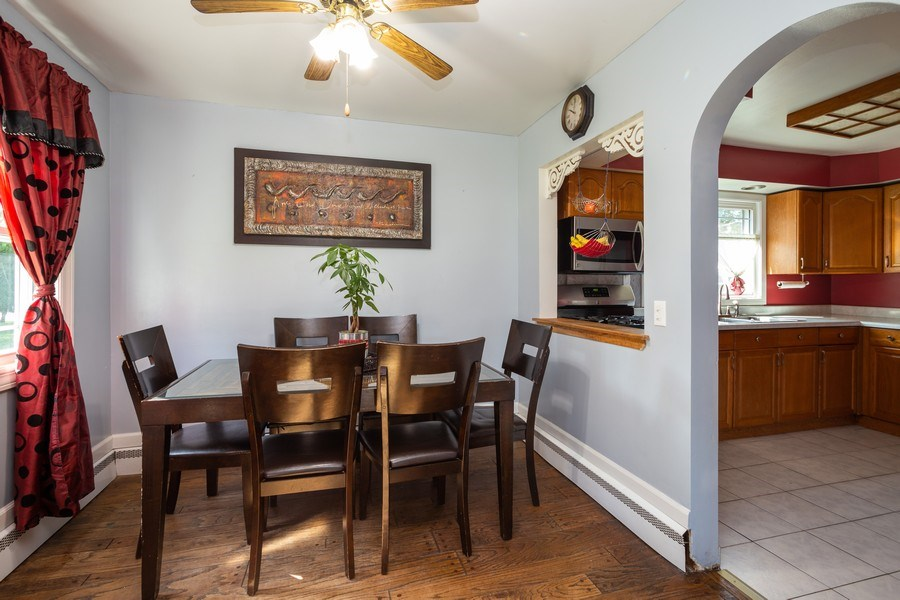 Real Estate Photography - 402 S Addison, Bensenville, IL, 60106 - Dining Room
