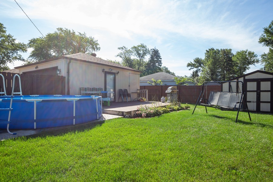 Real Estate Photography - 402 S Addison, Bensenville, IL, 60106 - Rear View
