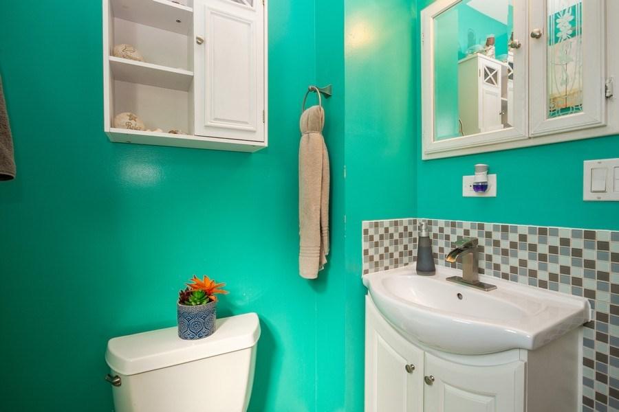 Real Estate Photography - 402 S Addison, Bensenville, IL, 60106 - Bathroom
