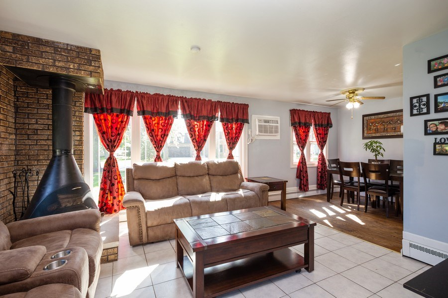 Real Estate Photography - 402 S Addison, Bensenville, IL, 60106 - Living Room / Dining Room