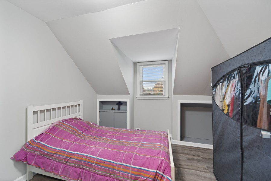 Real Estate Photography - 3512 Desota Ct, Franklin Park, IL, 60131 - Bedroom