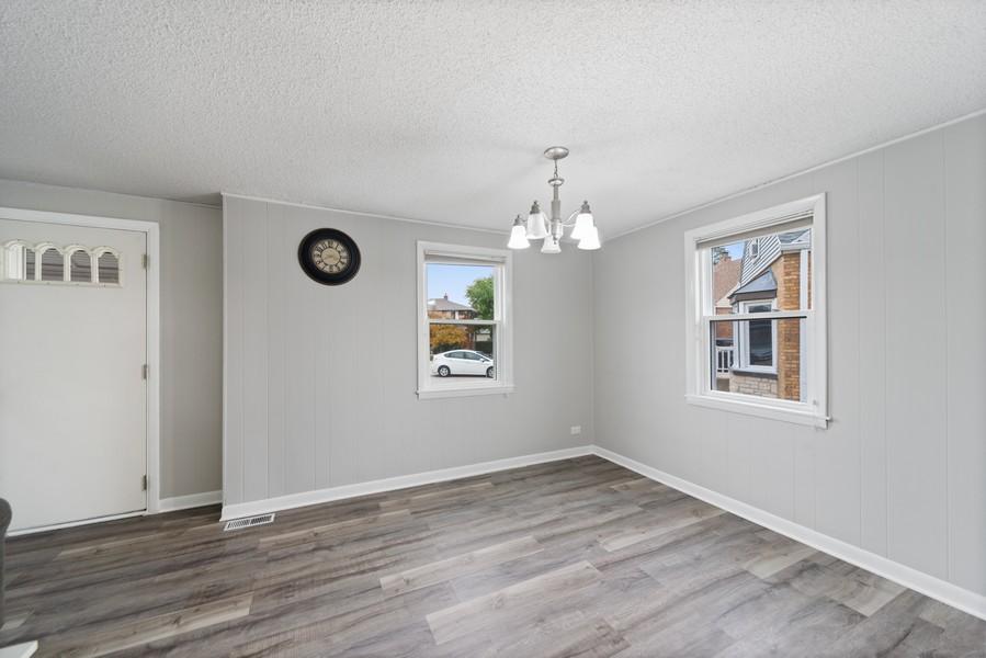Real Estate Photography - 3512 Desota Ct, Franklin Park, IL, 60131 - Dining Room