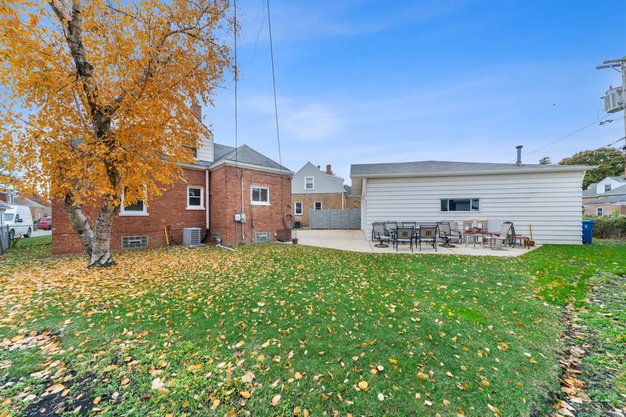 Real Estate Photography - 3512 Desota Ct, Franklin Park, IL, 60131 - Back Yard