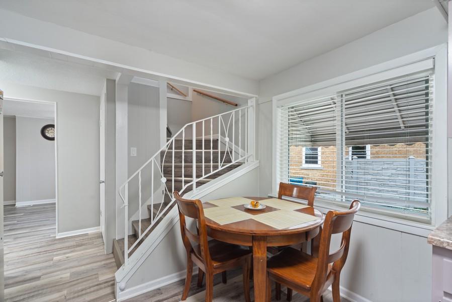 Real Estate Photography - 3512 Desota Ct, Franklin Park, IL, 60131 - Breakfast Nook