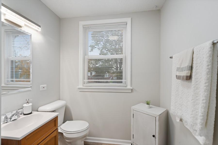 Real Estate Photography - 3512 Desota Ct, Franklin Park, IL, 60131 - 2nd Bathroom