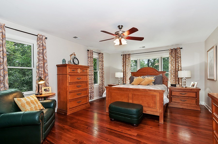 Real Estate Photography - 27W234 Warrenville Ave, Wheaton, IL, 60189 - Master Bedroom