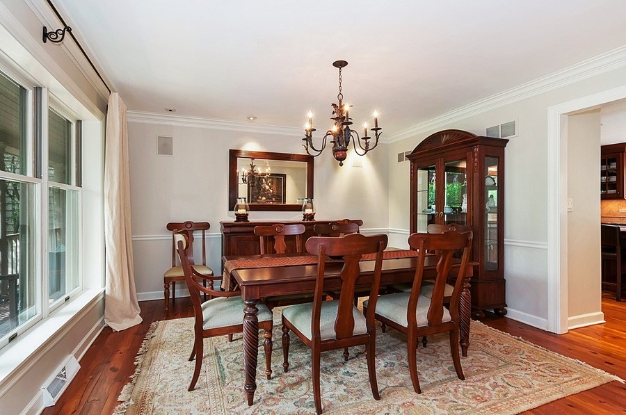 Real Estate Photography - 27W234 Warrenville Ave, Wheaton, IL, 60189 - Dining Room