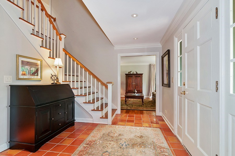 Real Estate Photography - 27W234 Warrenville Ave, Wheaton, IL, 60189 - Foyer