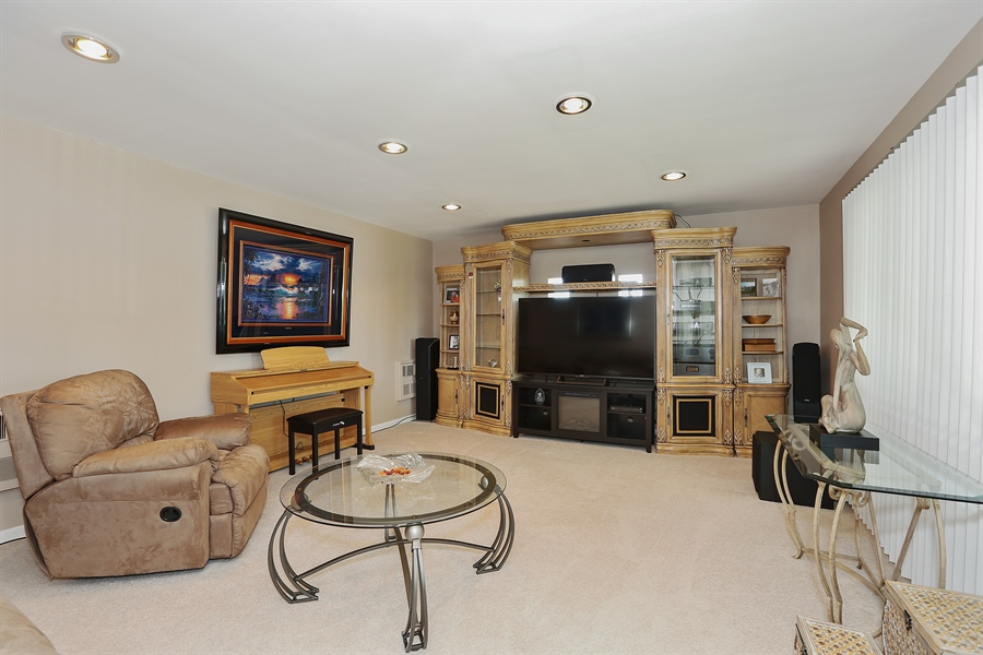 Real Estate Photography - 10647 Essex St, Westchester, IL, 60154 - Living Room