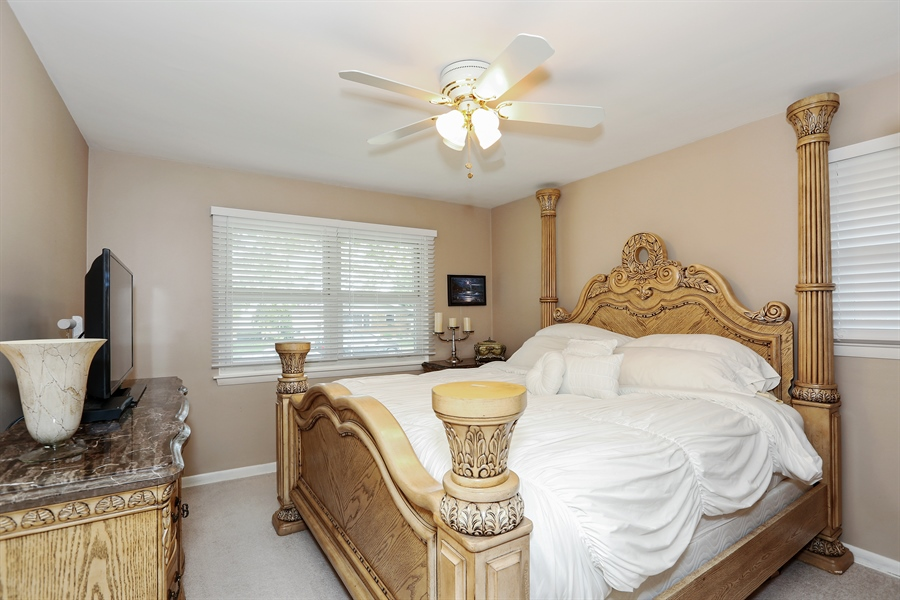 Real Estate Photography - 10647 Essex St, Westchester, IL, 60154 - Master Bedroom