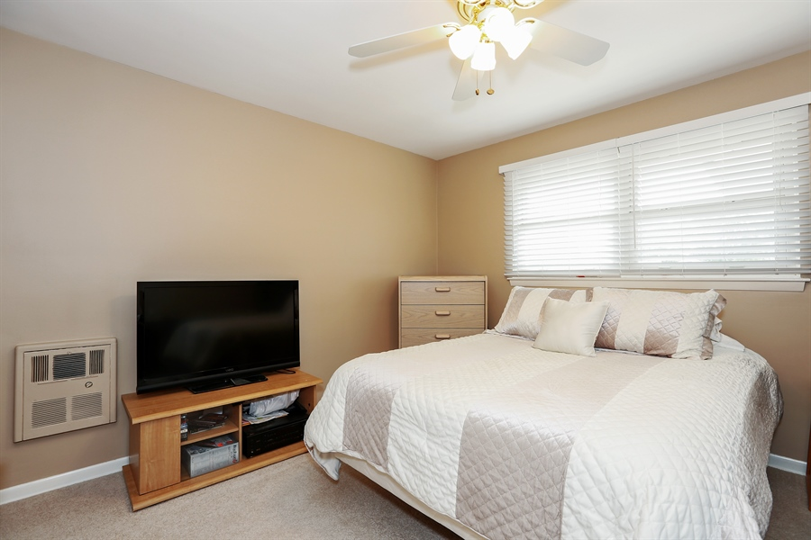 Real Estate Photography - 10647 Essex St, Westchester, IL, 60154 - Bedroom