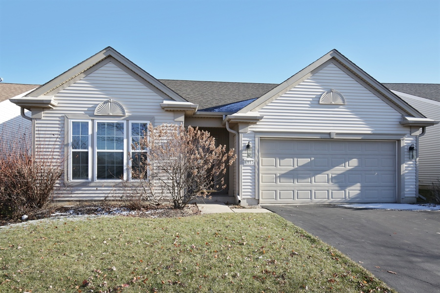 Real Estate Photography - 12112 Latham Trl, Huntley, IL, 60142 - Front View
