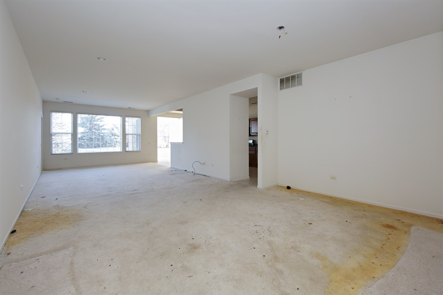 Real Estate Photography - 12112 Latham Trl, Huntley, IL, 60142 - Living Room / Dining Room