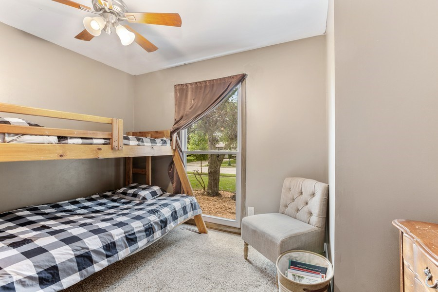 Real Estate Photography - 5112 Cambridge Dr, McHenry, IL, 60014 - 3rd Bedroom