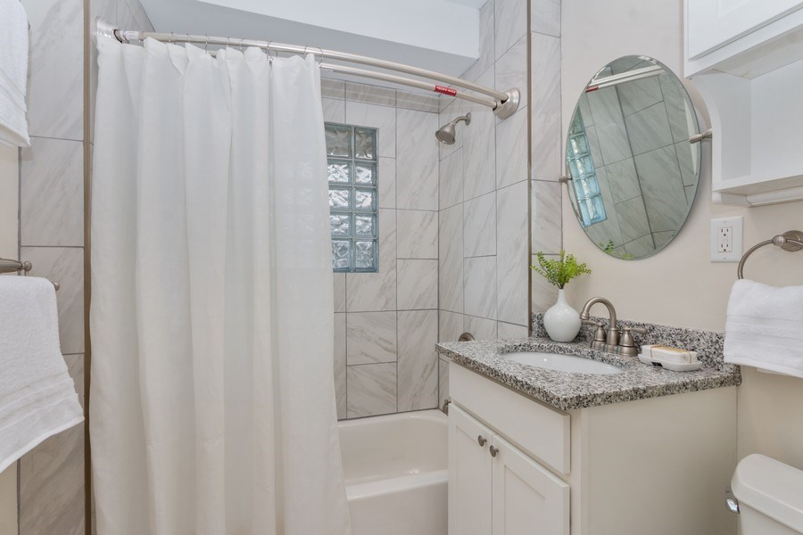 Real Estate Photography - 5609 Charlotte Street, Kansas City, MO, 64110 - Master Bathroom