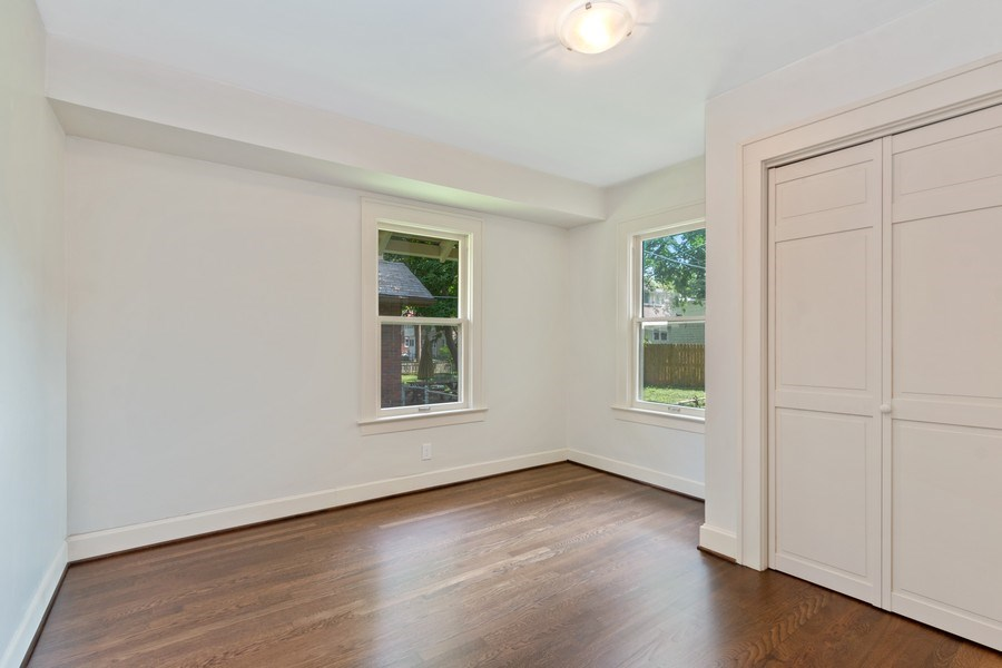Real Estate Photography - 5609 Charlotte Street, Kansas City, MO, 64110 - Guest Bedroom