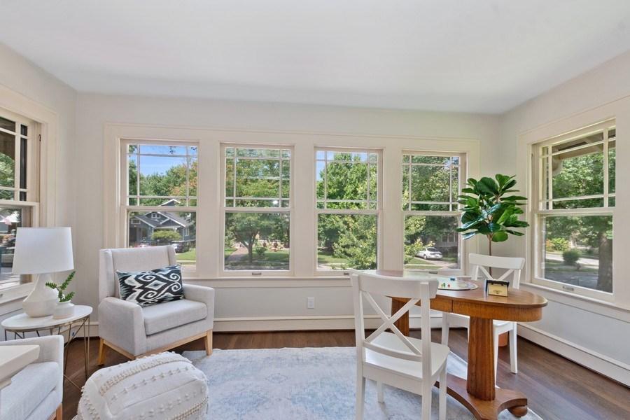Real Estate Photography - 5609 Charlotte Street, Kansas City, MO, 64110 - Family Room