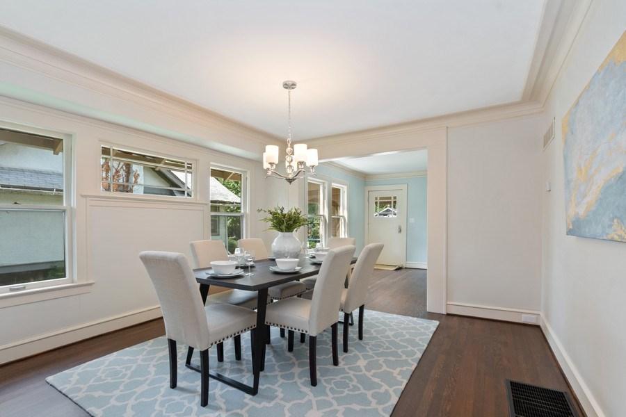 Real Estate Photography - 5609 Charlotte Street, Kansas City, MO, 64110 - Dining Room