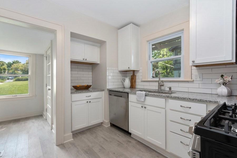 Real Estate Photography - 5609 Charlotte Street, Kansas City, MO, 64110 - Kitchen