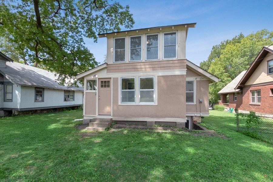 Real Estate Photography - 5609 Charlotte Street, Kansas City, MO, 64110 - Rear View