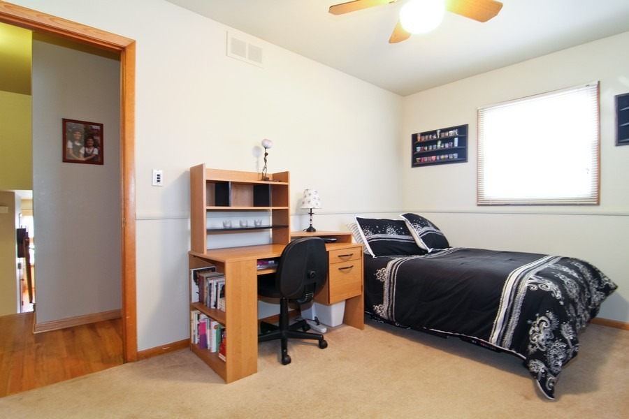 Real Estate Photography - 5829 S Lee Avenue, Downers Grove, IL, 60516 - 3rd Bedroom