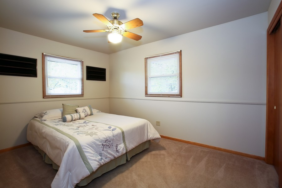 Real Estate Photography - 5829 S Lee Avenue, Downers Grove, IL, 60516 - Bedroom