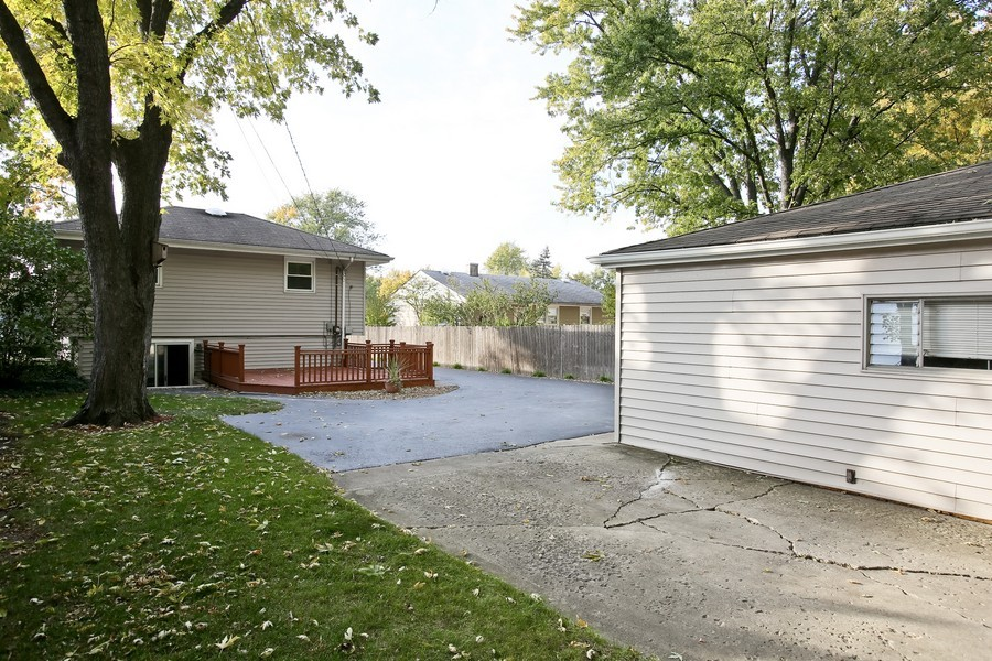 Real Estate Photography - 5829 S Lee Avenue, Downers Grove, IL, 60516 - Rear View