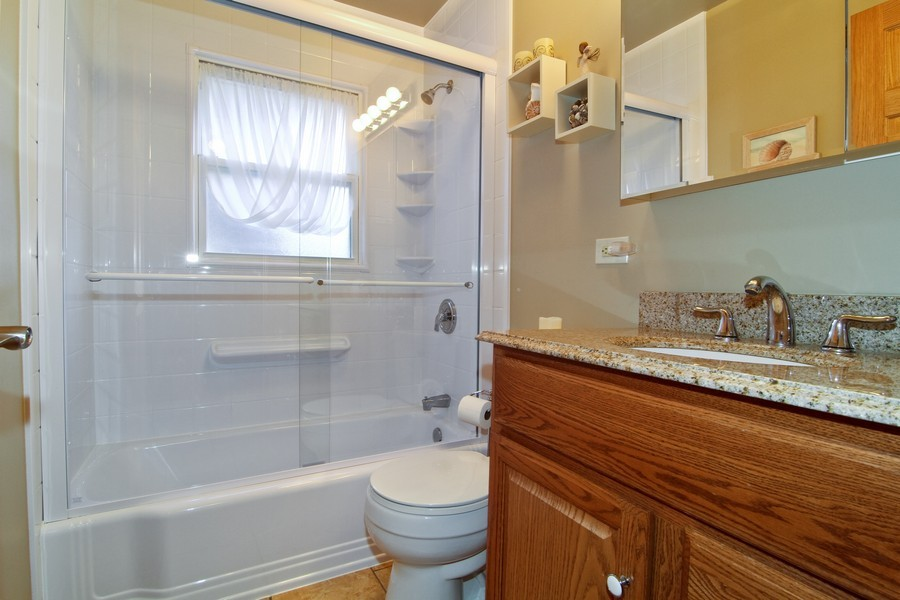 Real Estate Photography - 5829 S Lee Avenue, Downers Grove, IL, 60516 - Bathroom
