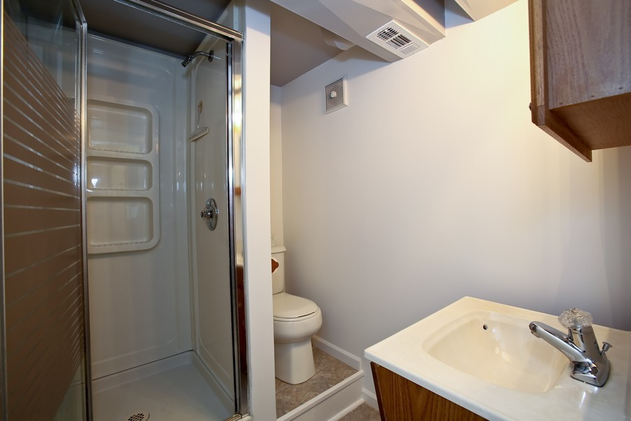 Real Estate Photography - 5829 S Lee Avenue, Downers Grove, IL, 60516 - 2nd Bathroom