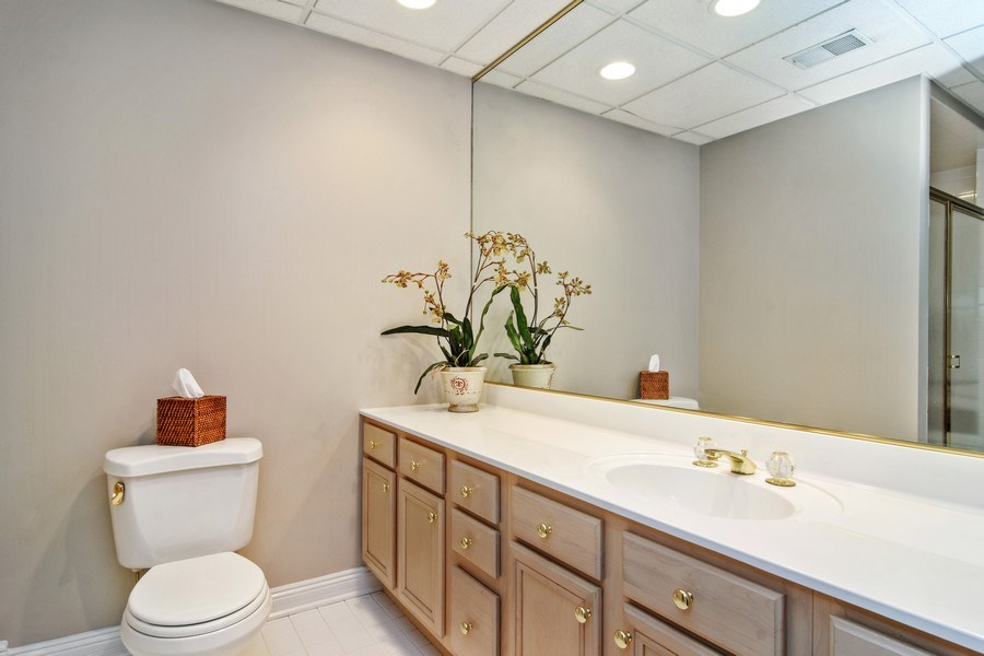 Real Estate Photography - 1285 Shoreside Ct, Palatine, IL, 60067 - 2nd Bathroom