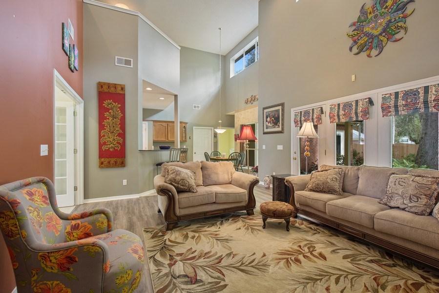 Real Estate Photography - 11881 Honey Locust Dr, Jacksonville, FL, 32223 - Living Room