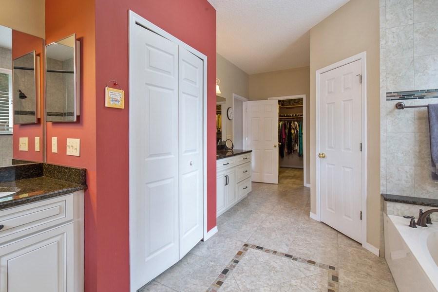 Real Estate Photography - 11881 Honey Locust Dr, Jacksonville, FL, 32223 - Master Bathroom