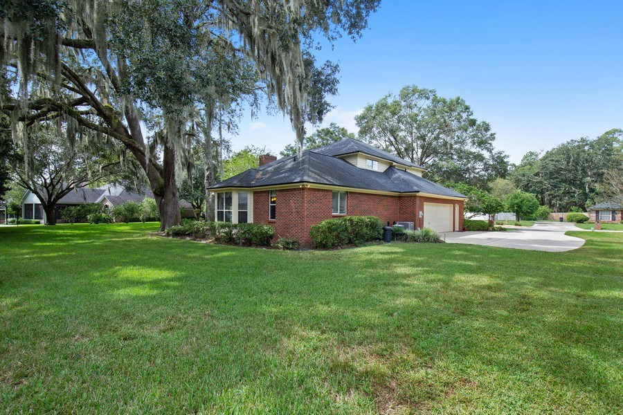 Real Estate Photography - 11881 Honey Locust Dr, Jacksonville, FL, 32223 - Back Yard