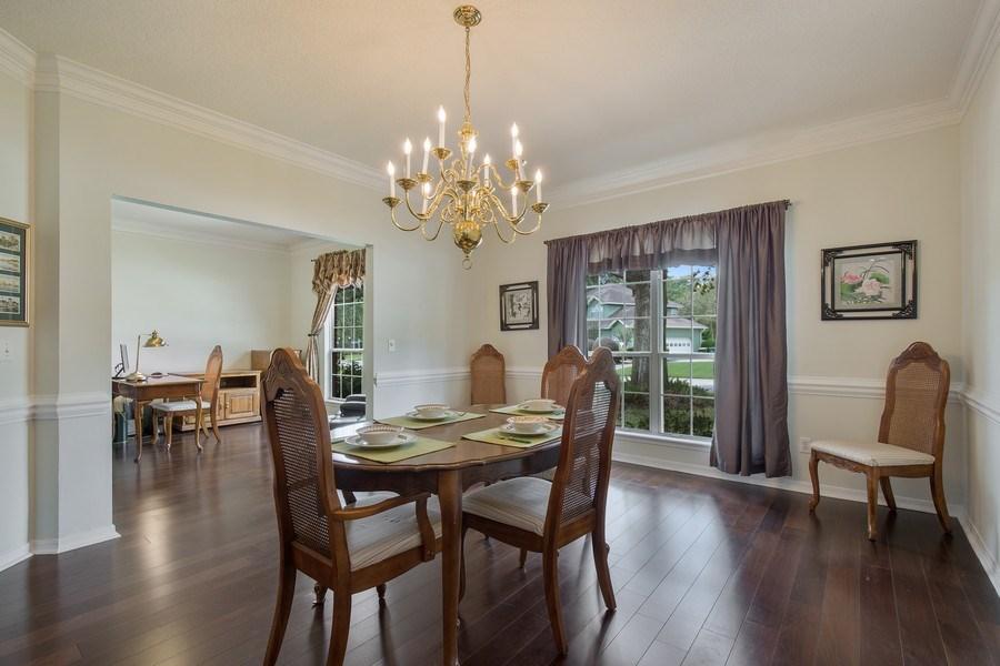 Real Estate Photography - 11881 Honey Locust Dr, Jacksonville, FL, 32223 - Dining Area