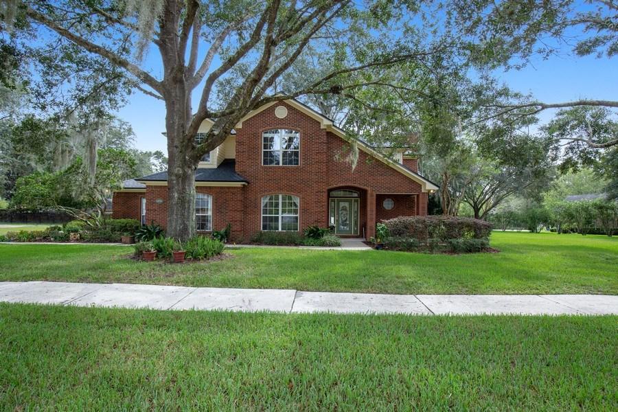 Real Estate Photography - 11881 Honey Locust Dr, Jacksonville, FL, 32223 - Front View