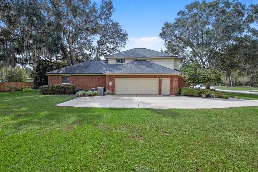 Real Estate Photography - 11881 Honey Locust Dr, Jacksonville, FL, 32223 - Side View