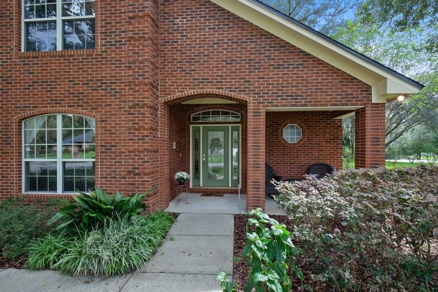 Real Estate Photography - 11881 Honey Locust Dr, Jacksonville, FL, 32223 - Patio