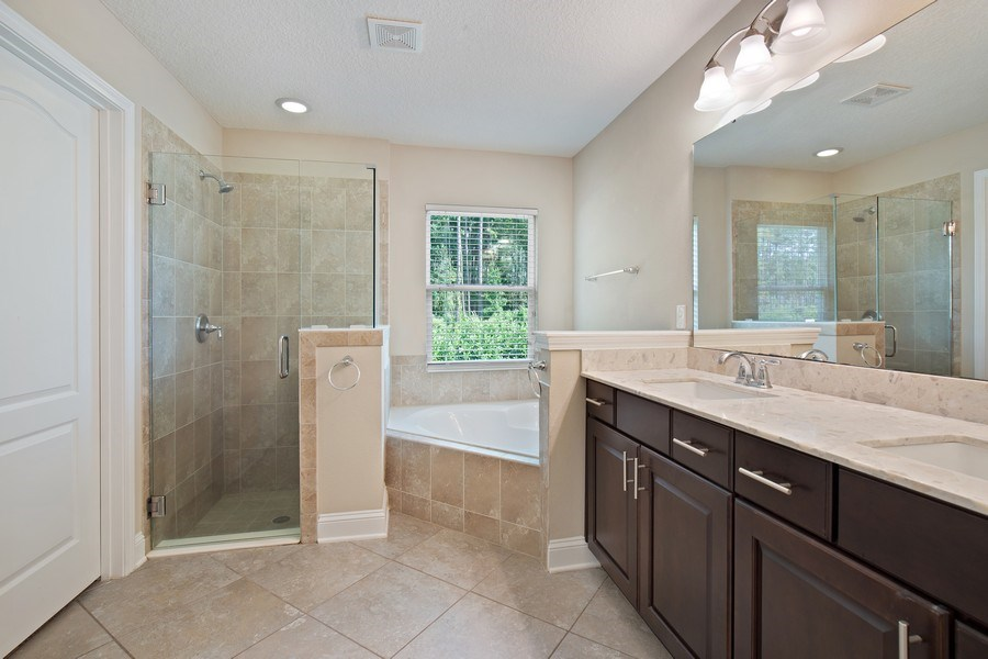 Real Estate Photography - 28 Wayside Ln, Ponte Vedra, FL, 32081 - Master Bathroom