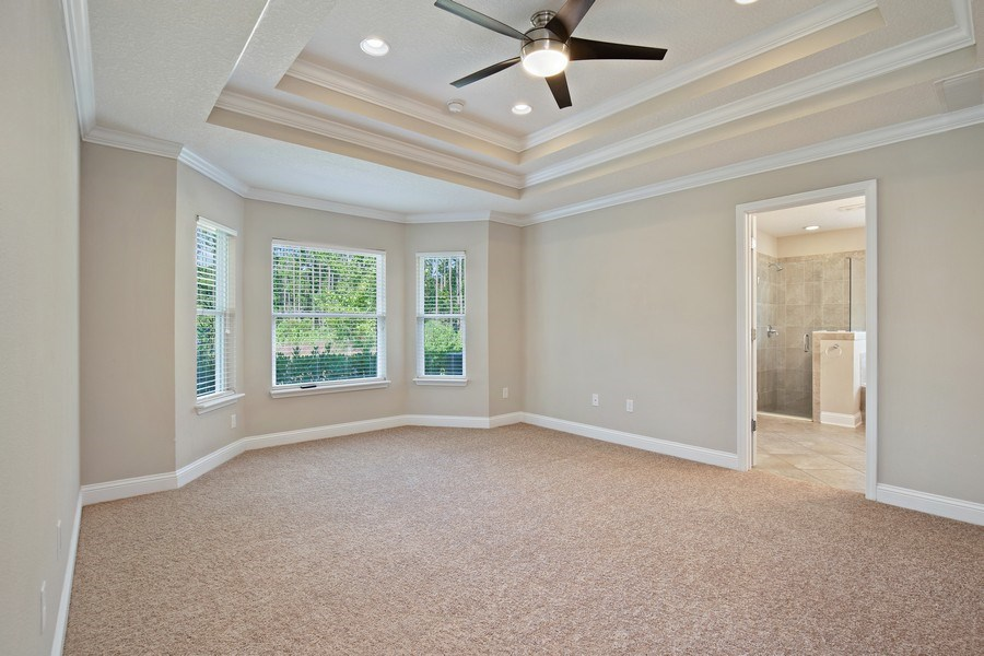 Real Estate Photography - 28 Wayside Ln, Ponte Vedra, FL, 32081 - Master Bedroom