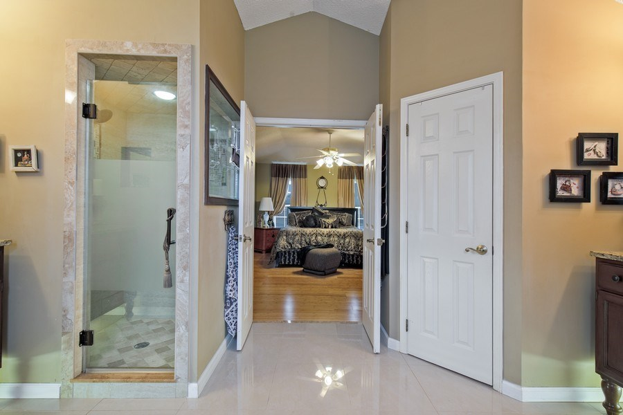 Real Estate Photography - 2142 Brighton Bay Trail W, Jacksonville, FL, 32246 - Master Bathroom