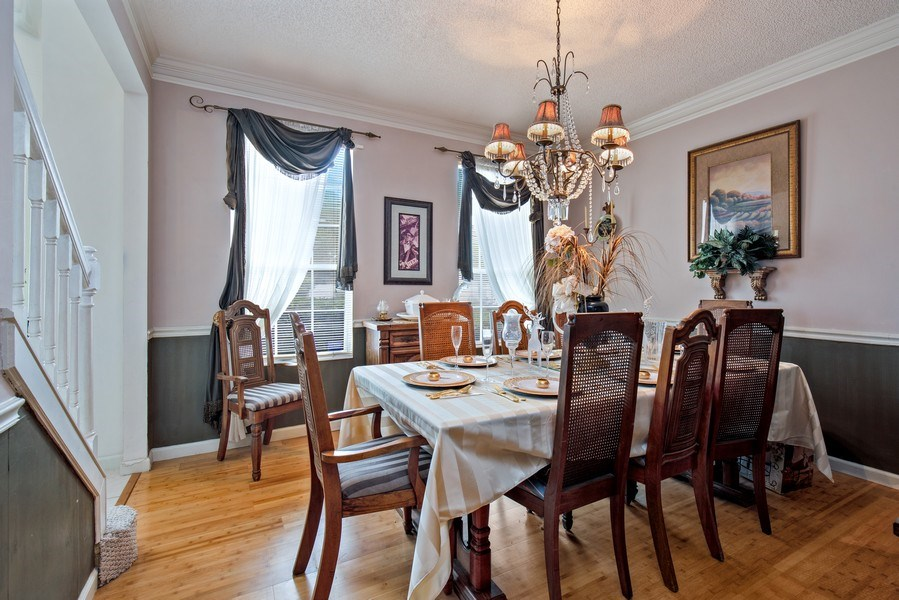 Real Estate Photography - 2142 Brighton Bay Trail W, Jacksonville, FL, 32246 - Dining Room