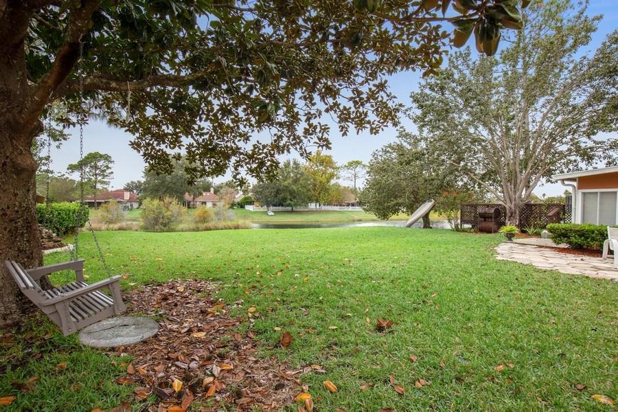 Real Estate Photography - 2142 Brighton Bay Trail W, Jacksonville, FL, 32246 - Back Yard