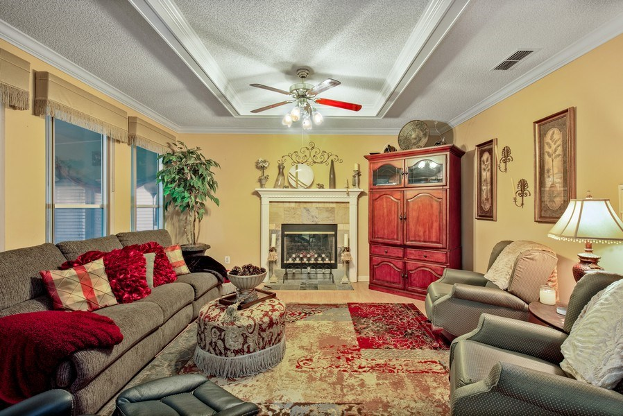Real Estate Photography - 2142 Brighton Bay Trail W, Jacksonville, FL, 32246 - Family Room