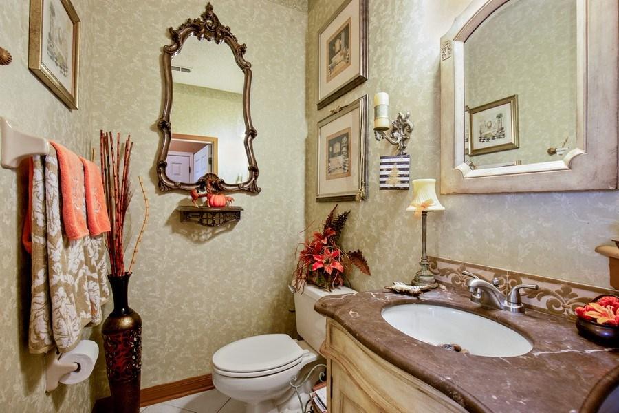 Real Estate Photography - 2142 Brighton Bay Trail W, Jacksonville, FL, 32246 - Half Bath